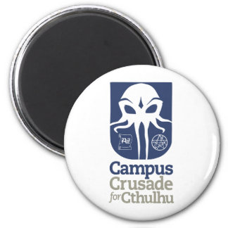Campus Crusade for Cthulhu 2 Inch Round Magnet