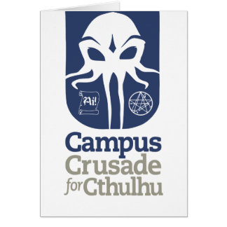 Campus Crusade for Cthulhu Cards
