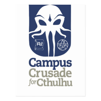 Campus Crusade for Cthulhu Post Card
