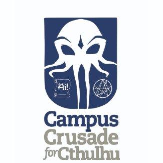 Campus Crusade for Cthulu shirt