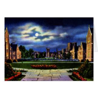 Campus del oeste de Durham Carolina del Norte Univ Tarjeta De Felicitación