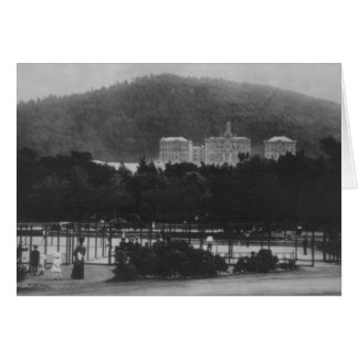 Campus From Golden Gate Park Tennis Courts Card
