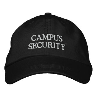CAMPUS SECURITY EMBROIDERED BASEBALL CAP