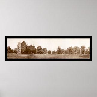 Campus Vassar College Photo 1912 Poster