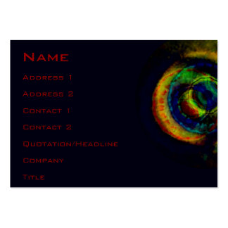 Camscient, Name, Address 1, Address 2, Contact ... Large Business Cards (Pack Of 100)