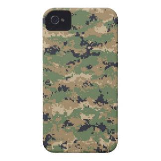 Camuflaje #2 del arbolado de MarPat Digital iPhone 4 Cárcasa