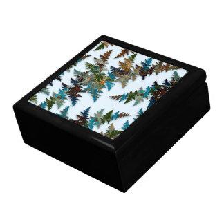 Camuflaje ártico cajas de joyas