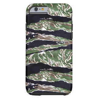 Camuflaje asiático de la raya del tigre funda para iPhone 6 tough
