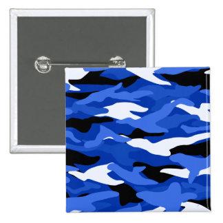 Camuflaje azul pins