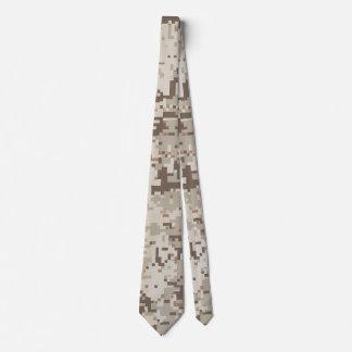Camuflaje beige de Digitaces del estilo del Corbata Personalizada