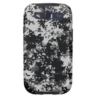 Camuflaje blanco y negro de Digitaces Samsung Galaxy S3 Cobertura