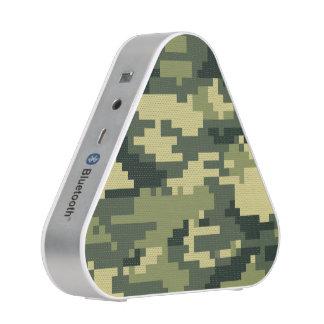Camuflaje/Camo del arbolado del pixel de 8 pedazos Altavoz Bluetooth
