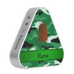 Camuflaje conocido personalizado del verde de altavoz