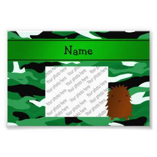 Camuflaje conocido personalizado del verde de Bigf Fotografías