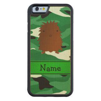 Camuflaje conocido personalizado del verde de funda de iPhone 6 bumper arce