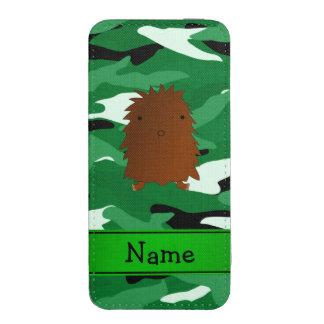 Camuflaje conocido personalizado del verde de funda para iPhone 5