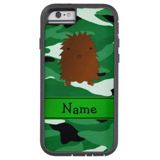 Camuflaje conocido personalizado del verde de funda para  iPhone 6 tough xtreme