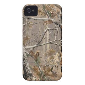 Camuflaje de Camo que caza la caja real del árbol iPhone 4 Case-Mate Coberturas