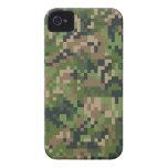 Camuflaje de Digitaces de la selva Case-Mate iPhone 4 Cárcasas