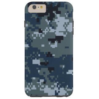 Camuflaje de la marina de guerra NWU Funda Para iPhone 6 Plus Tough