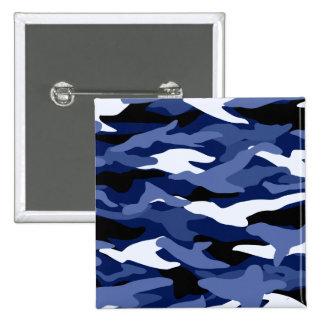 Camuflaje de los azules marinos pins