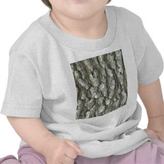 Camuflaje de madera real de la naturaleza de Camo  Camisetas