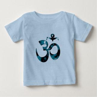 Camuflaje de OM - ropa de la yoga del bebé Playera De Bebé