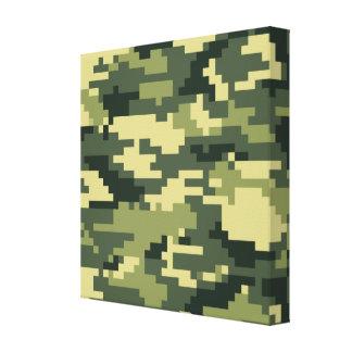 Camuflaje del arbolado del pixel de 8 pedazos impresiones de lienzo