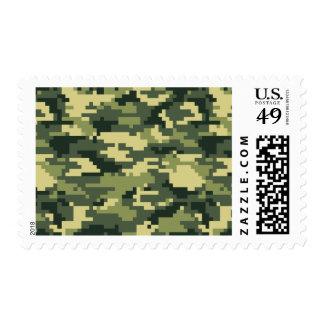 Camuflaje del arbolado del pixel de 8 pedazos sello