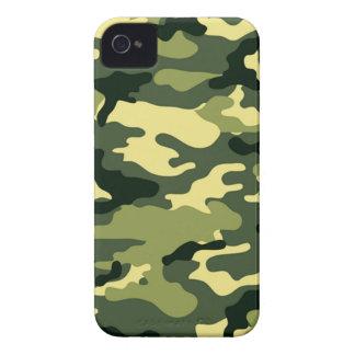 Camuflaje del arbolado iPhone 4 Case-Mate cobertura