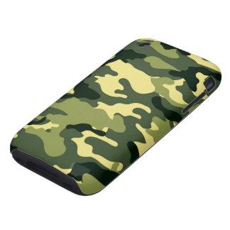 Camuflaje del arbolado tough iPhone 3 protectores