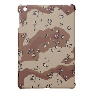 camuflaje del camo del desierto iPad mini carcasa
