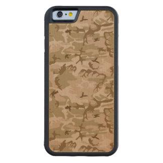 Camuflaje del desierto del ejército funda de iPhone 6 bumper arce