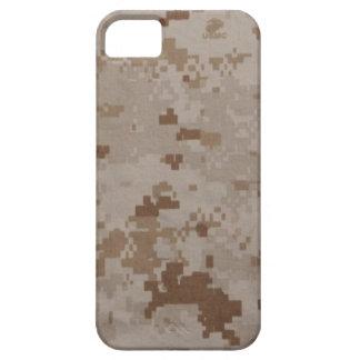 Camuflaje del desierto del USMC iPhone 5 Funda