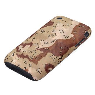 Camuflaje del desierto iPhone 3 tough cobertura