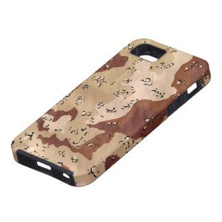 Camuflaje del desierto iPhone 5 fundas