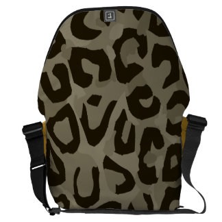 Camuflaje del guepardo bolsa de mensajeria