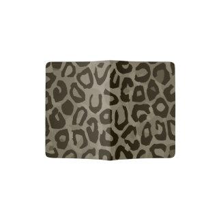 Camuflaje del guepardo porta pasaporte