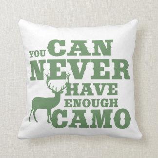 Camuflaje del humor de la caza de los ciervos cojin