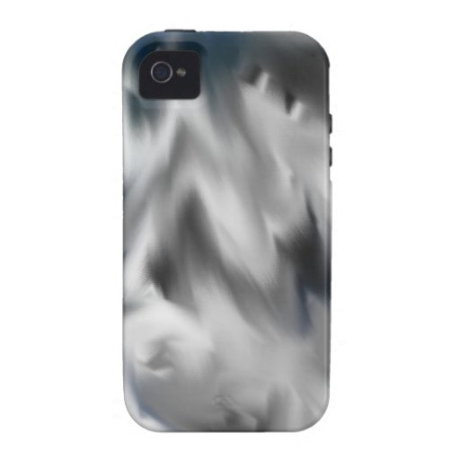 Camuflaje del invierno Case-Mate iPhone 4 fundas
