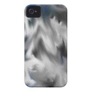 Camuflaje del invierno iPhone 4 protectores