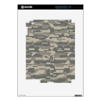 Camuflaje del verde de Digitaces OD del ejército Skins Para iPad 2