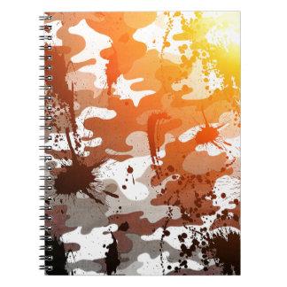 Camuflaje enviciado cuadernos