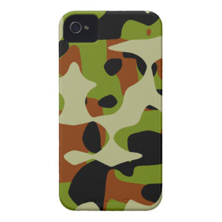 Camuflaje europeo iPhone 4 Case-Mate cárcasa