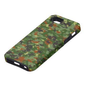 Camuflaje europeo iPhone 5 fundas
