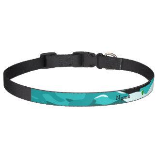 Camuflaje extranjero conocido personalizado de la  collar para perro