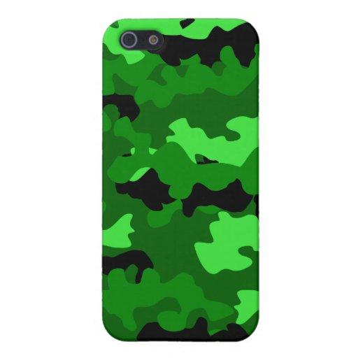 Camuflaje iPhone 5 Cobertura