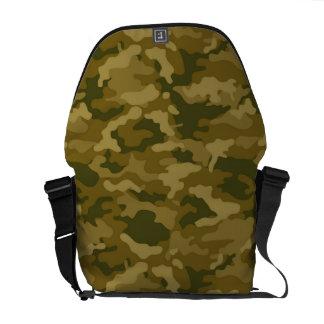 Camuflaje militar de Camo del ejército verde Bolsas De Mensajería