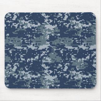 Camuflaje Mousepad de Digitaces de la marina de gu Alfombrillas De Ratón
