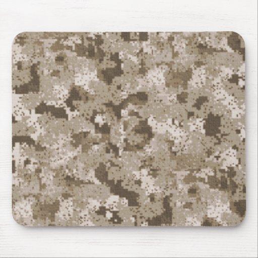 Camuflaje Mousepad de Digitaces del desierto Alfombrilla De Raton